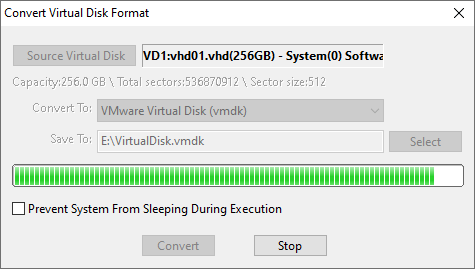 How to convert Hyper-V to VMware (convert VHD to VMDK)?