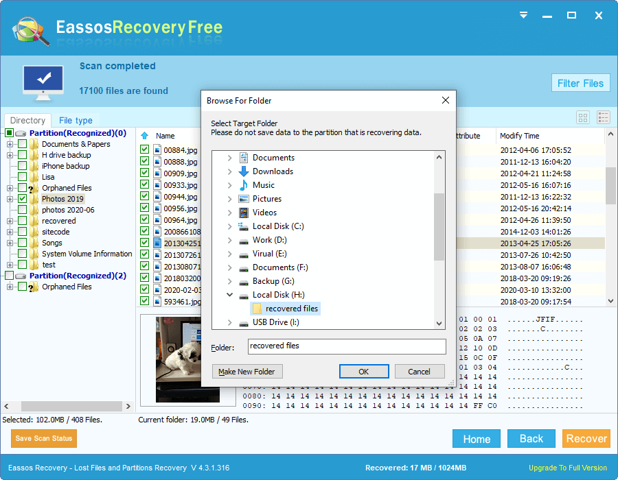 Easy Data Recovery Software