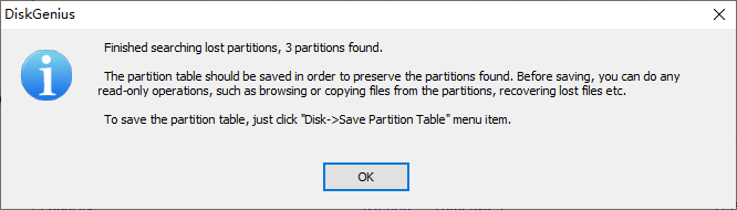 Lost Partition Data Recovery in Windows 10