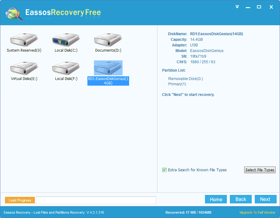 usb recovery software free download full version