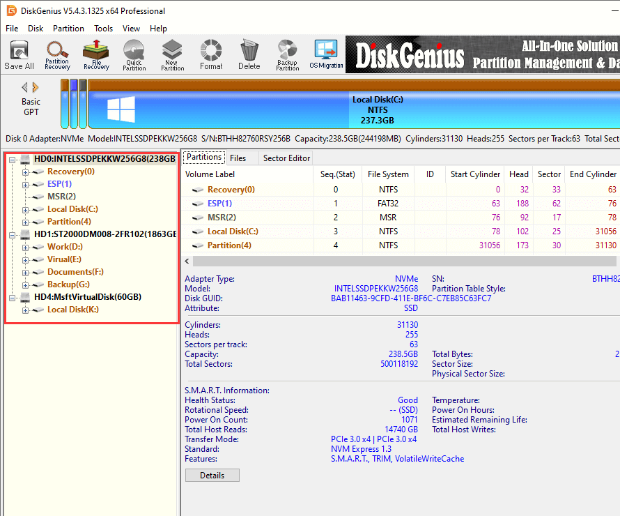 hard drive bad sector repair software freeware