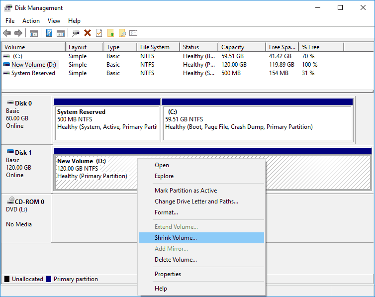 How to resize partition in Windows 10/8/7 without data loss?