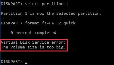 Fixed - Virtual Disk Service Errors
