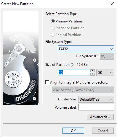 Create Bootable USB Disk - DiskGenius